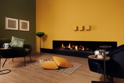 Découvrez nos cheminées à gaz design pour votre intérieur !