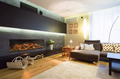 Electric built-in fireplaces: sustainable and beautiful!