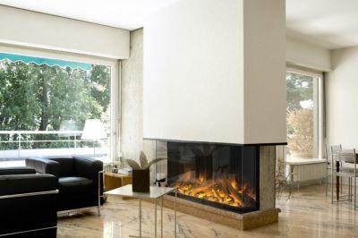 Un foyer électrique encastrable : durable et agréable !