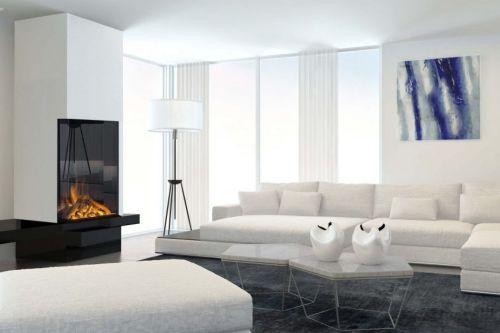 Un foyer à gaz n'est pas possible ? Choisissez dans ce cas un foyer électrique !